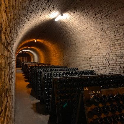 Cave champagne craie pupitre